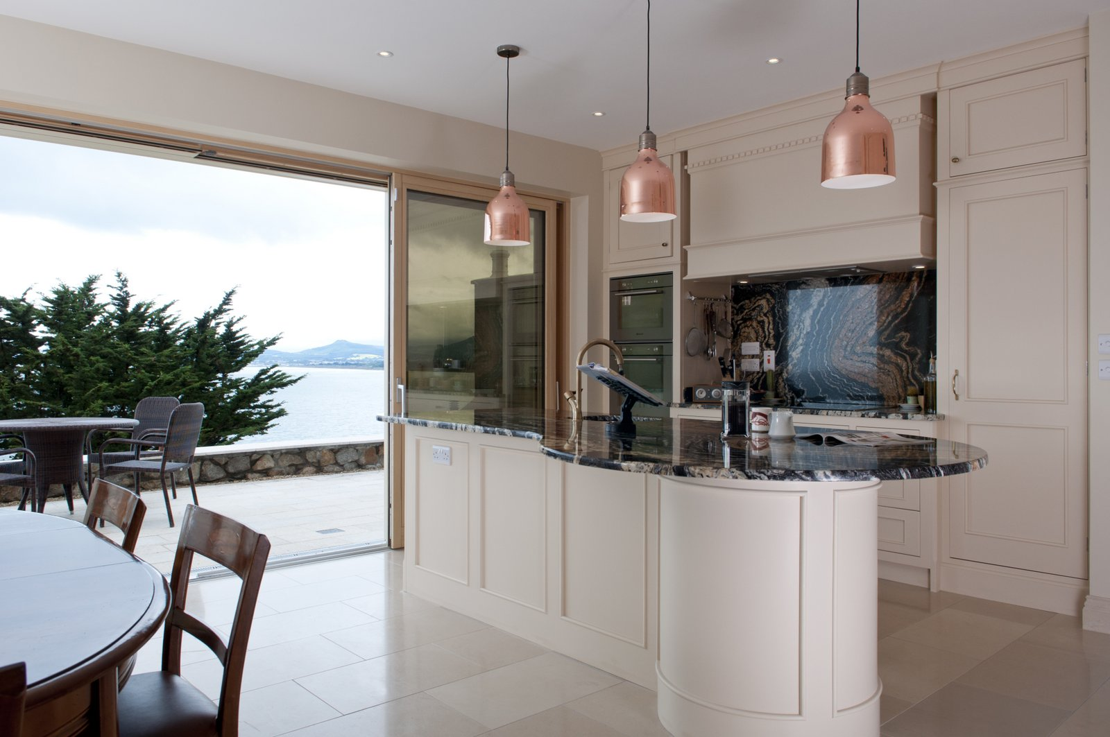 Dalkey - A Classic Kitchen With A Stunning View