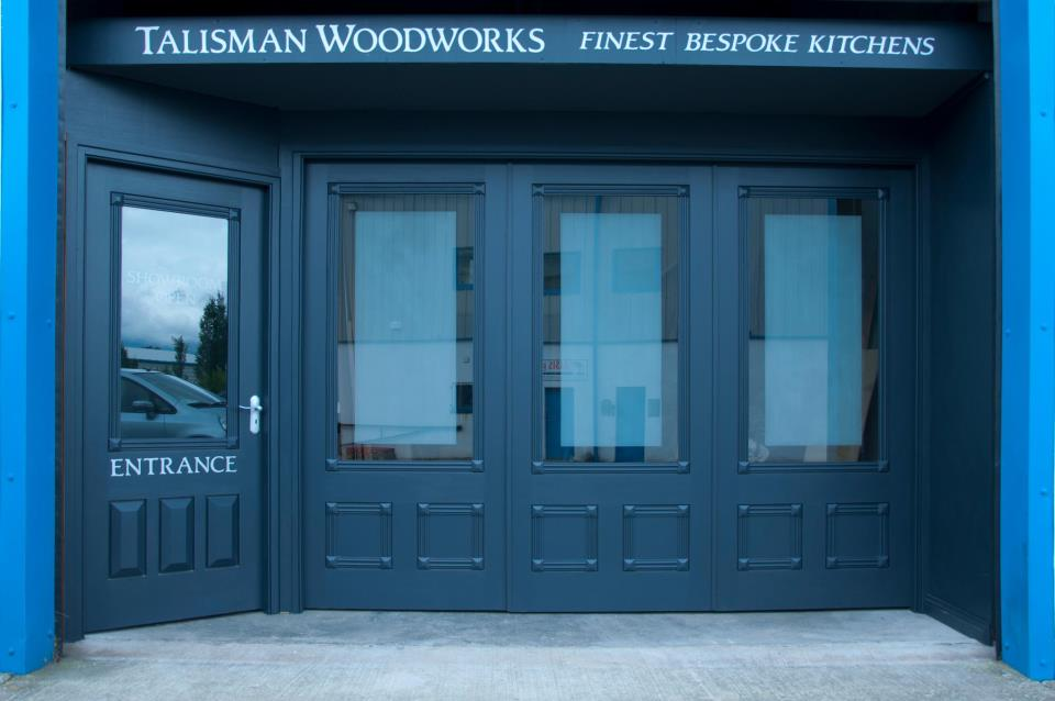 We can also help with your joinery requirements-this is our showroom entrance.