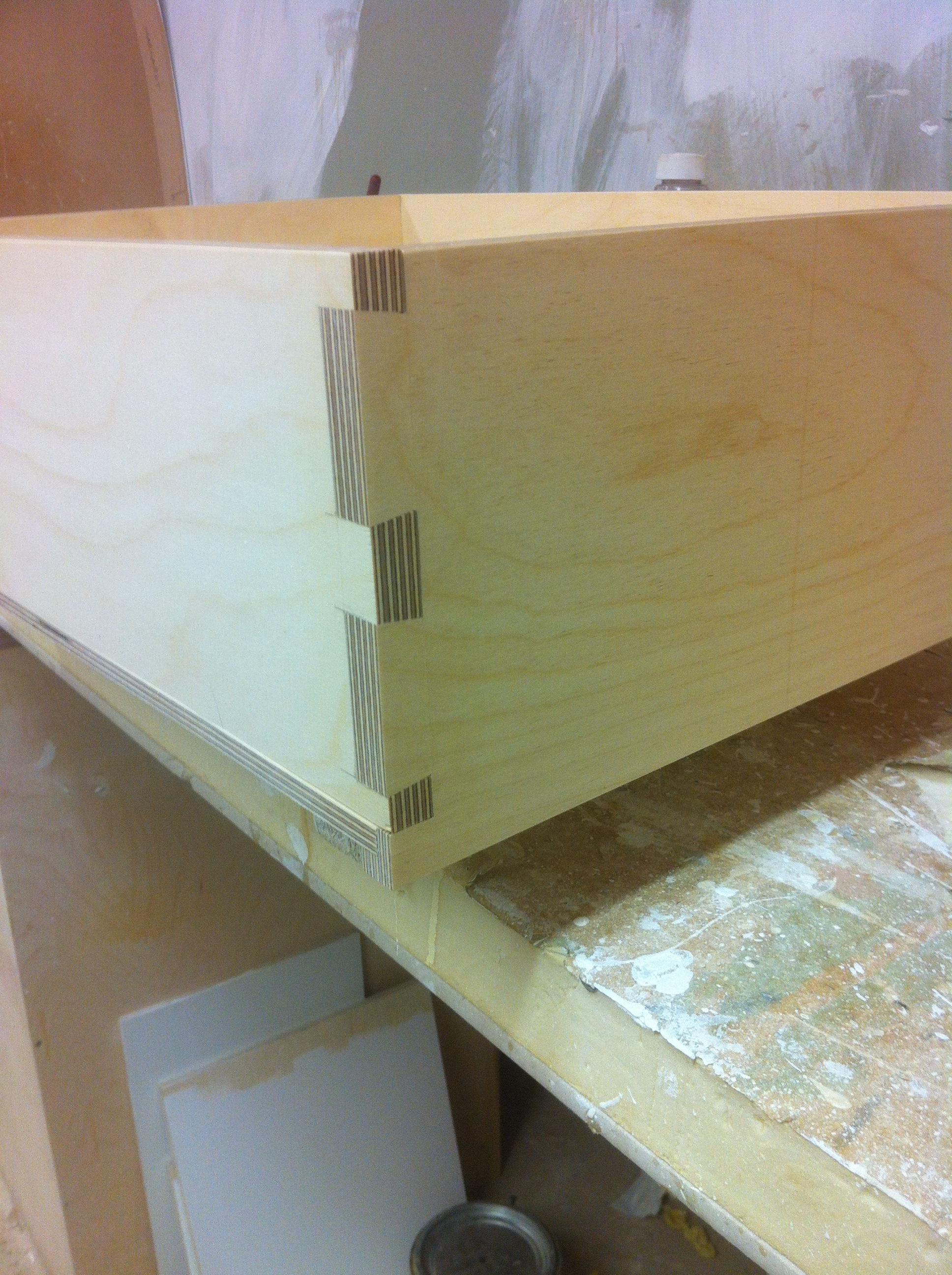 More lovely dovetails.