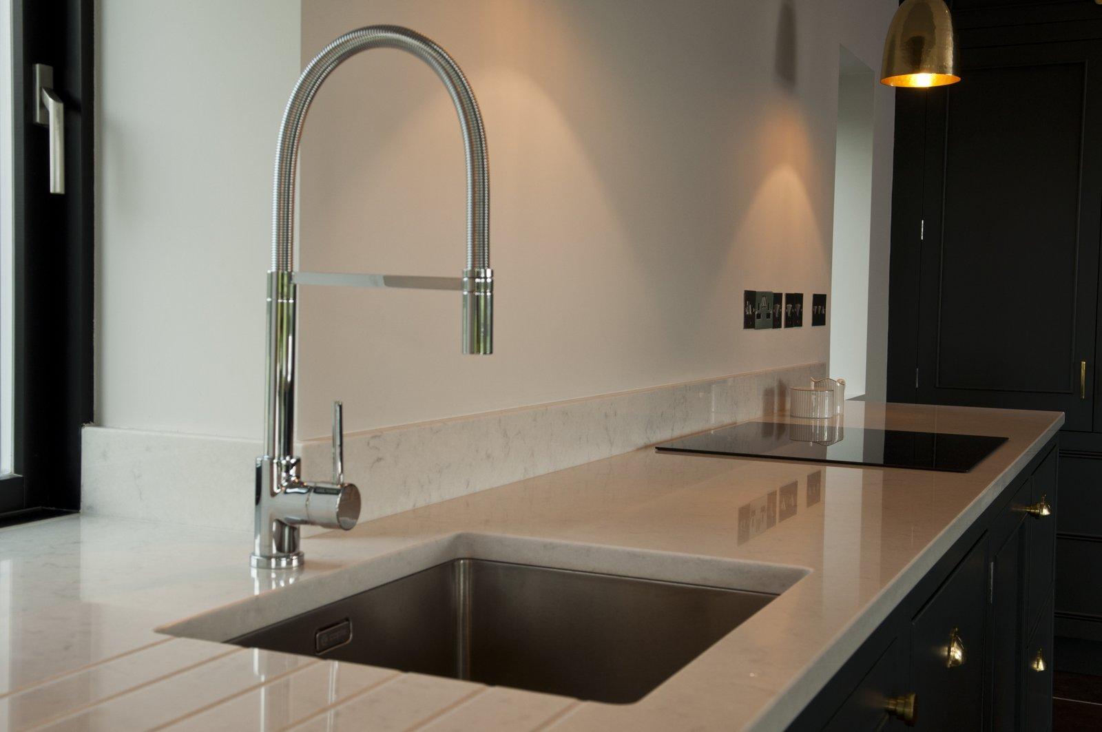 handcrafted kitchens bespoke worktop sink