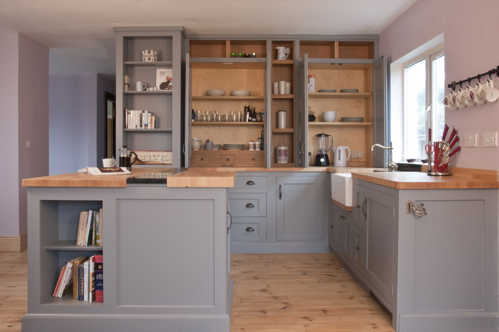 Handmade handpainted kitchen bespoke