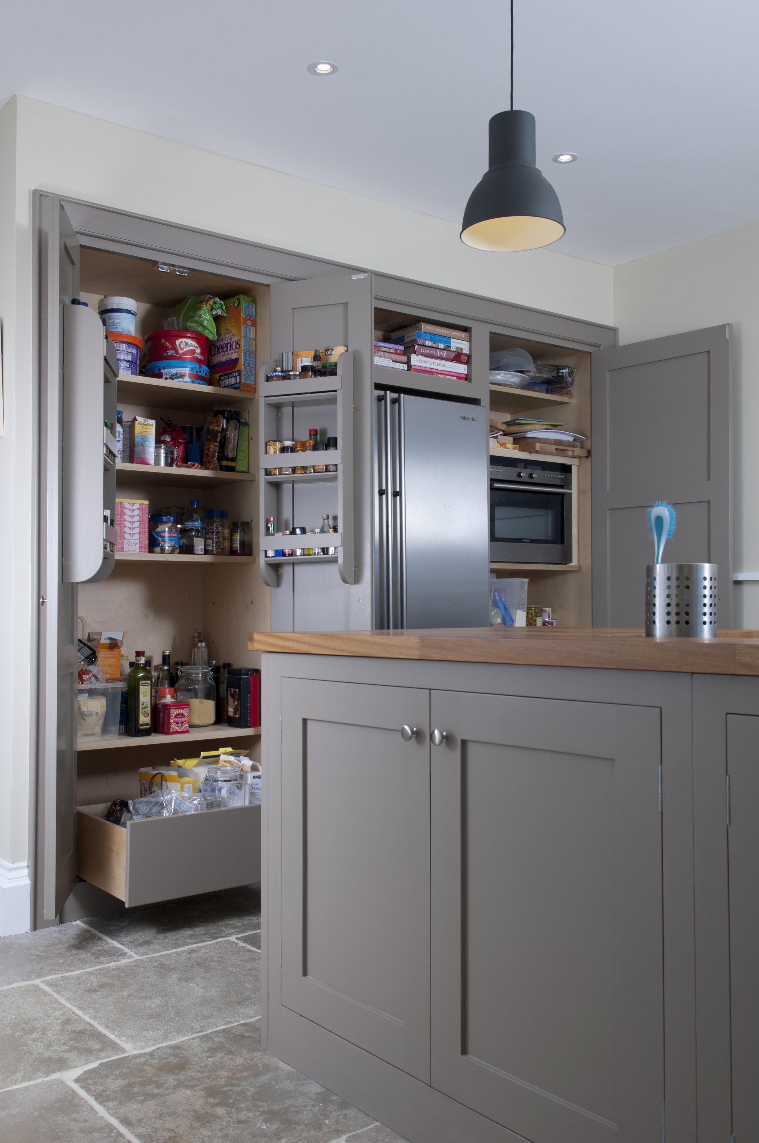 Talisman Woodworks - Kitchen storage handmade