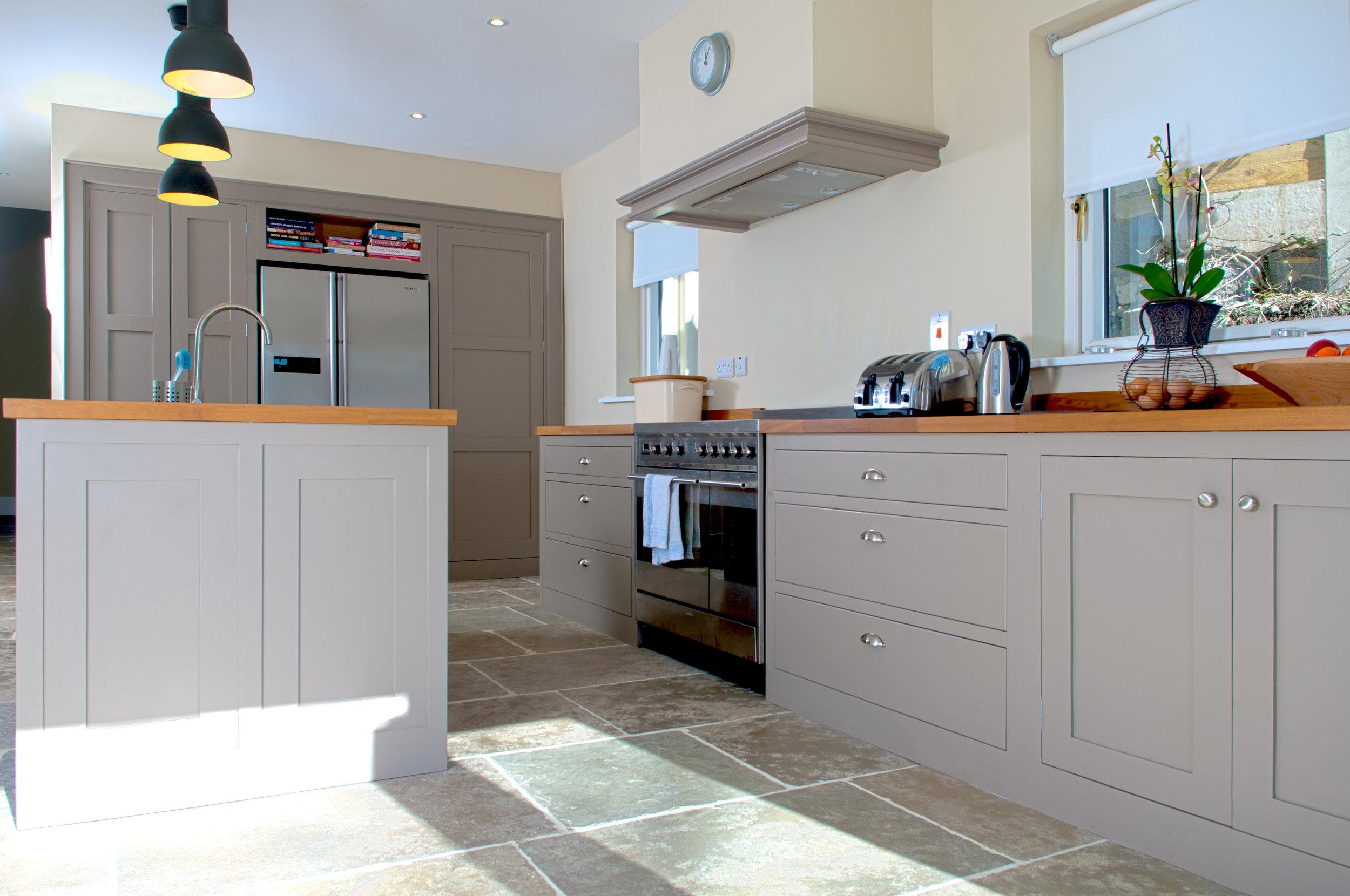 Handmade kitchen bespoke Talisman Woodworks