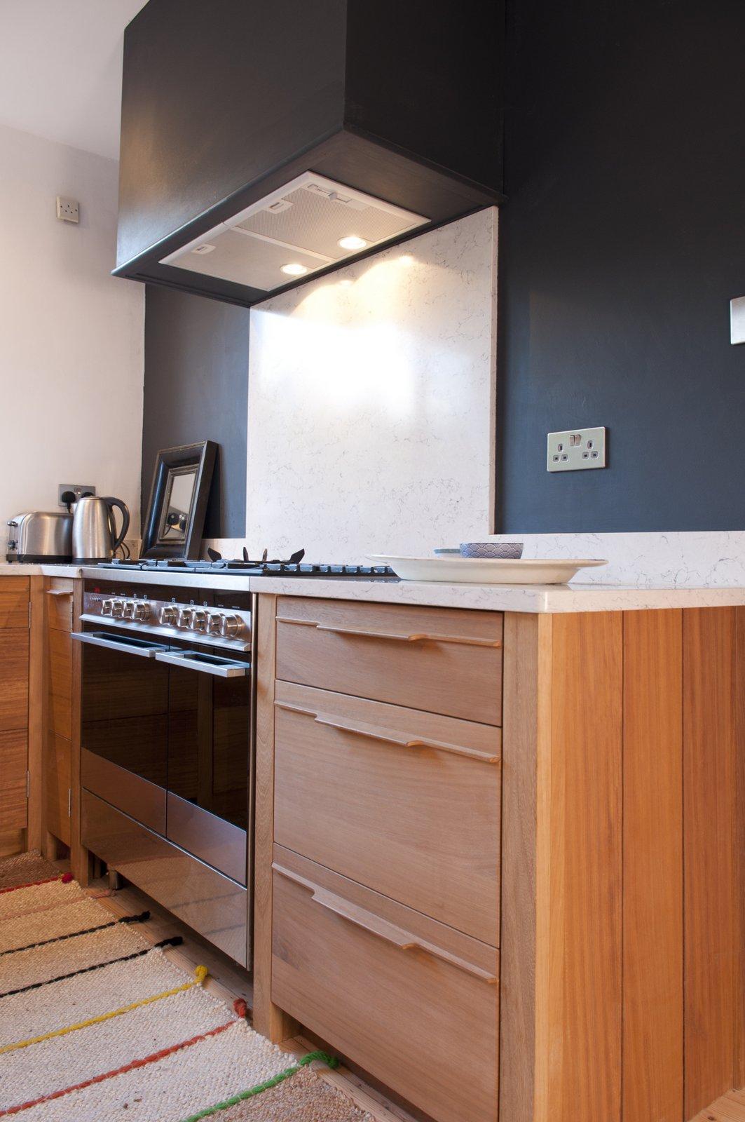 bespoke cooker unit kitchen design greystones