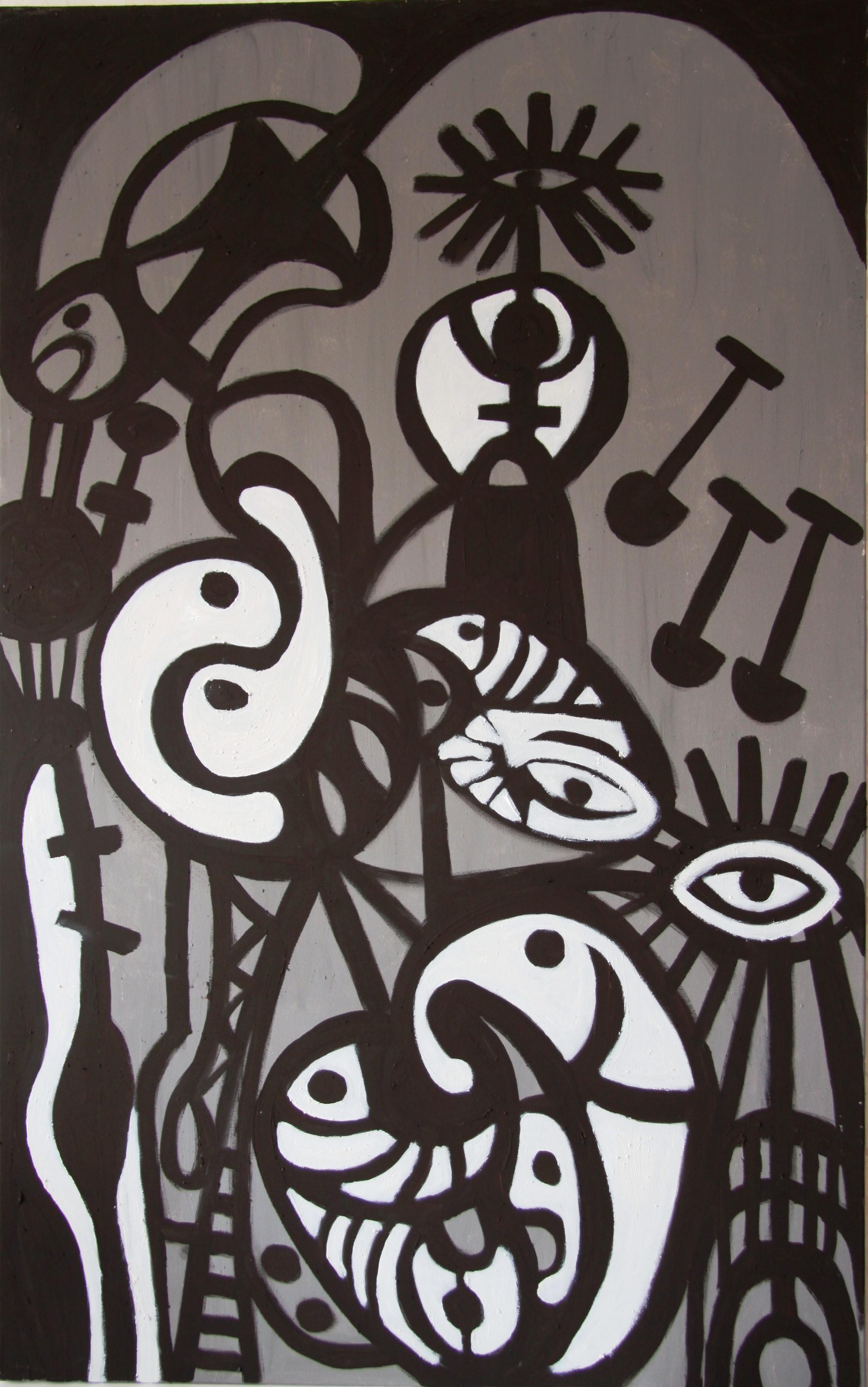 "RUA RED Gallery Dublin -Tallaght ""Tamh Lacht -The Wall"" 2011"