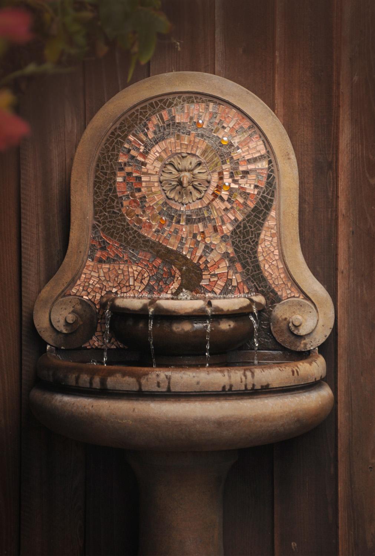 Bronze Water Feature