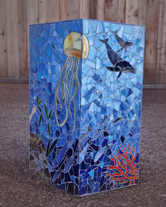 Ocean Planter - side 3 & 4
