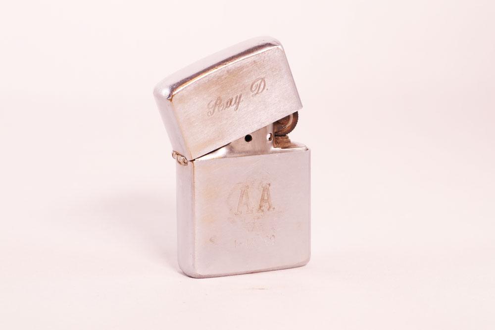 1st Year Anniversary Zippo Lighter