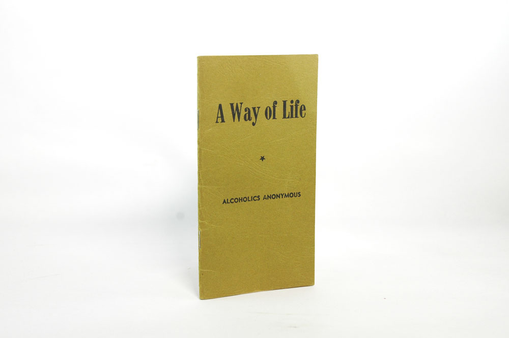 """""""A Way of Life"""" Pamphlet"""