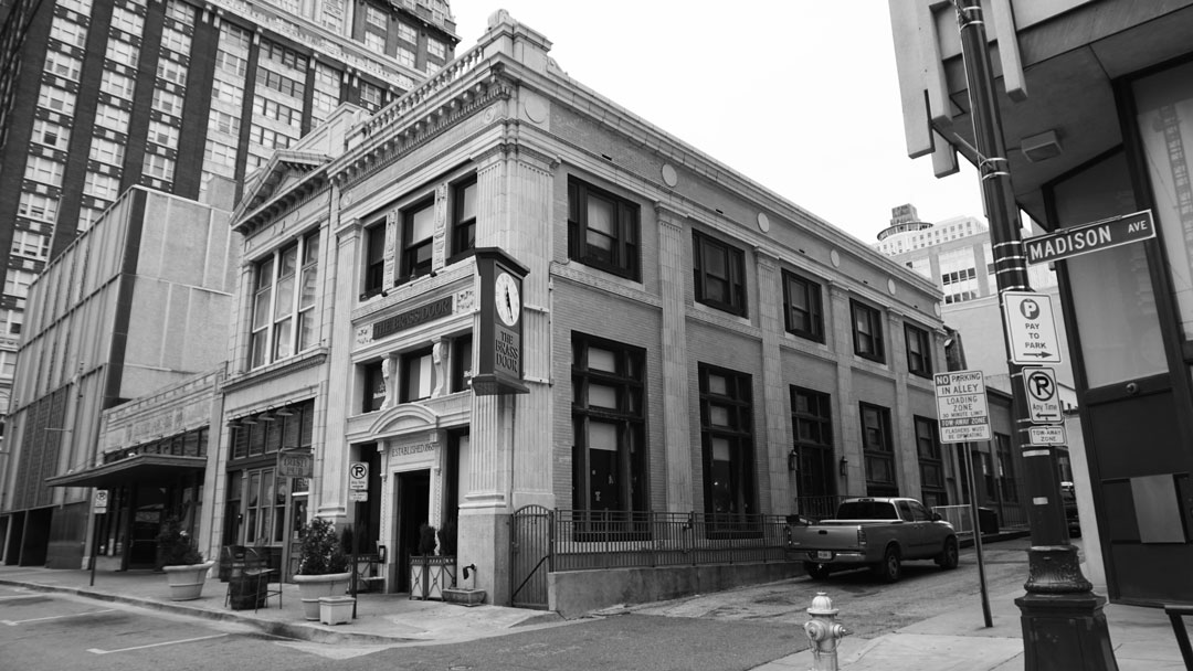 The location of Memphis' first permanent group was here at 152 1/2 Madison Avenue