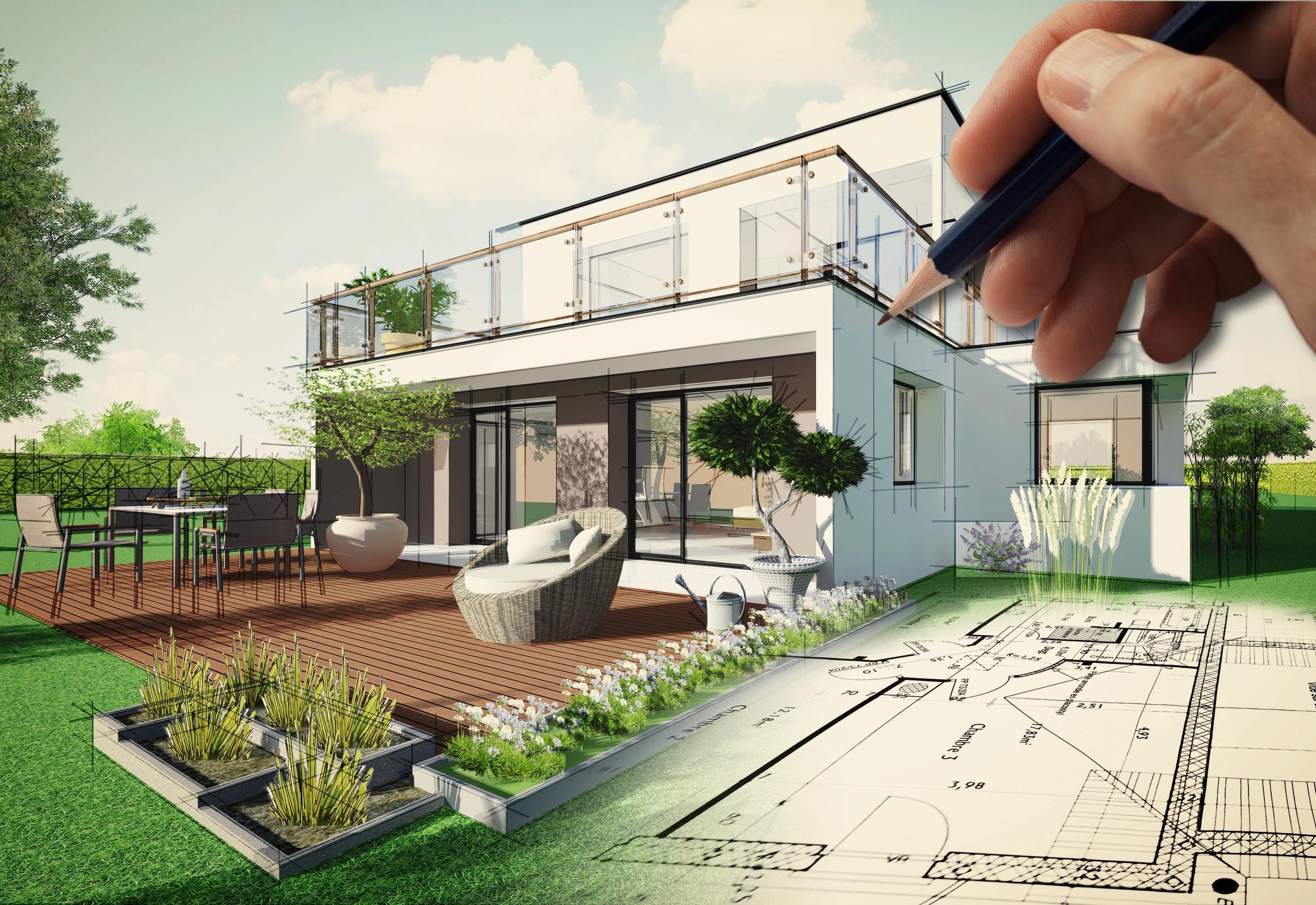 Terrassenbau in jeglicher Ausführung - Holzterrassen oder Steinbelag - Sie haben die Wahl.
