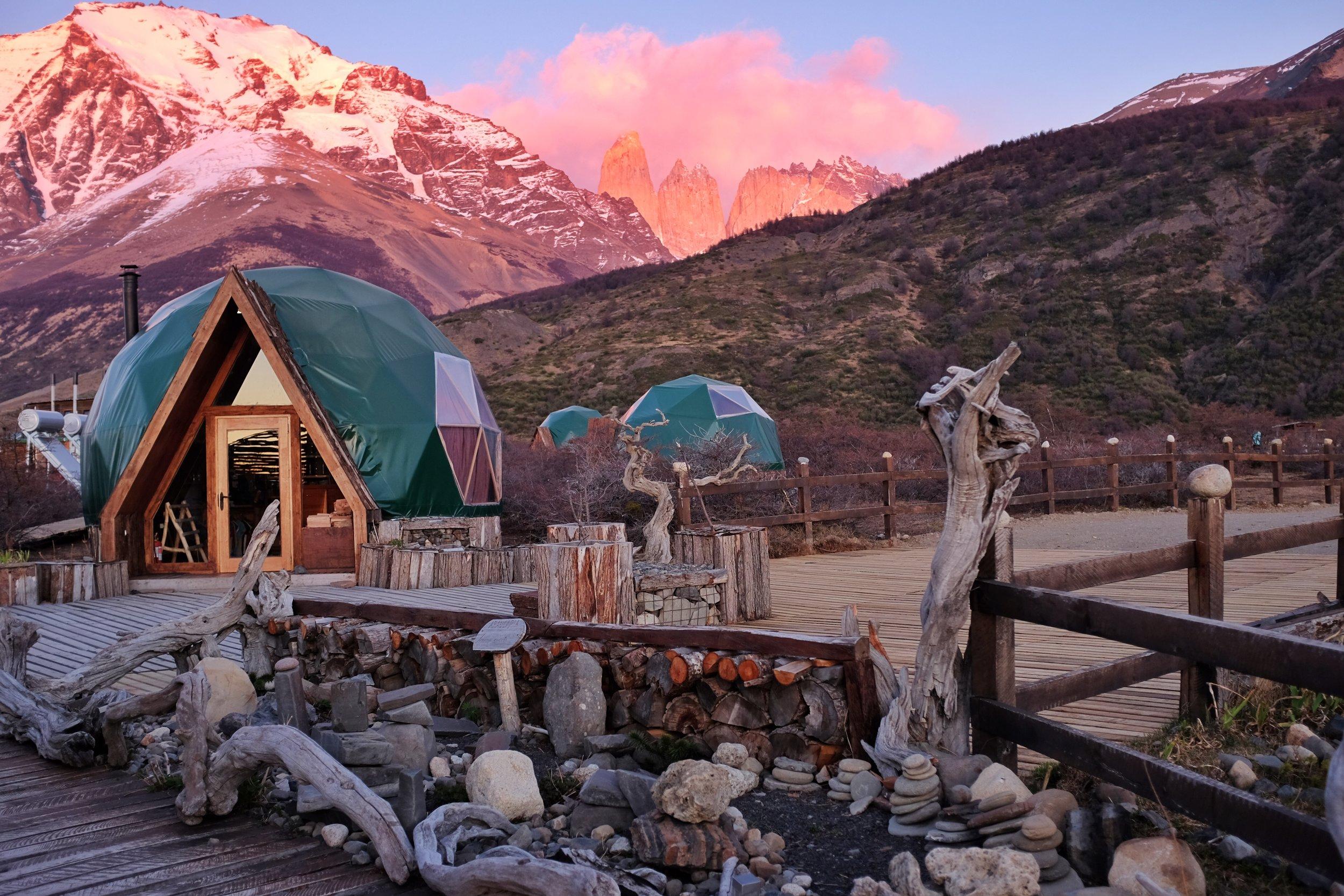 ECOCAMP PATAGONIA - TORRES DEL PAINE, CHILE