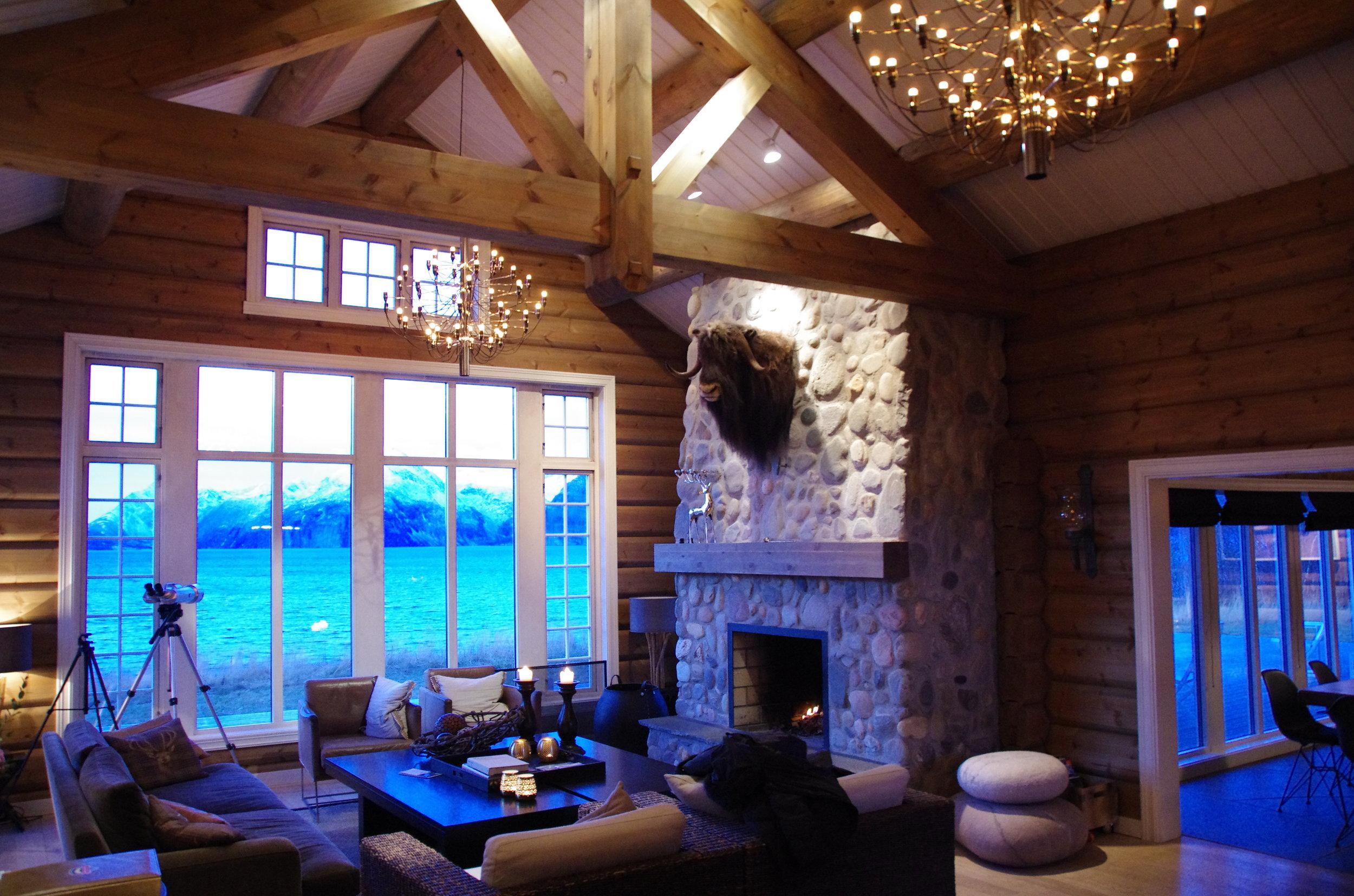 Lyngen Lodge Cosy Living