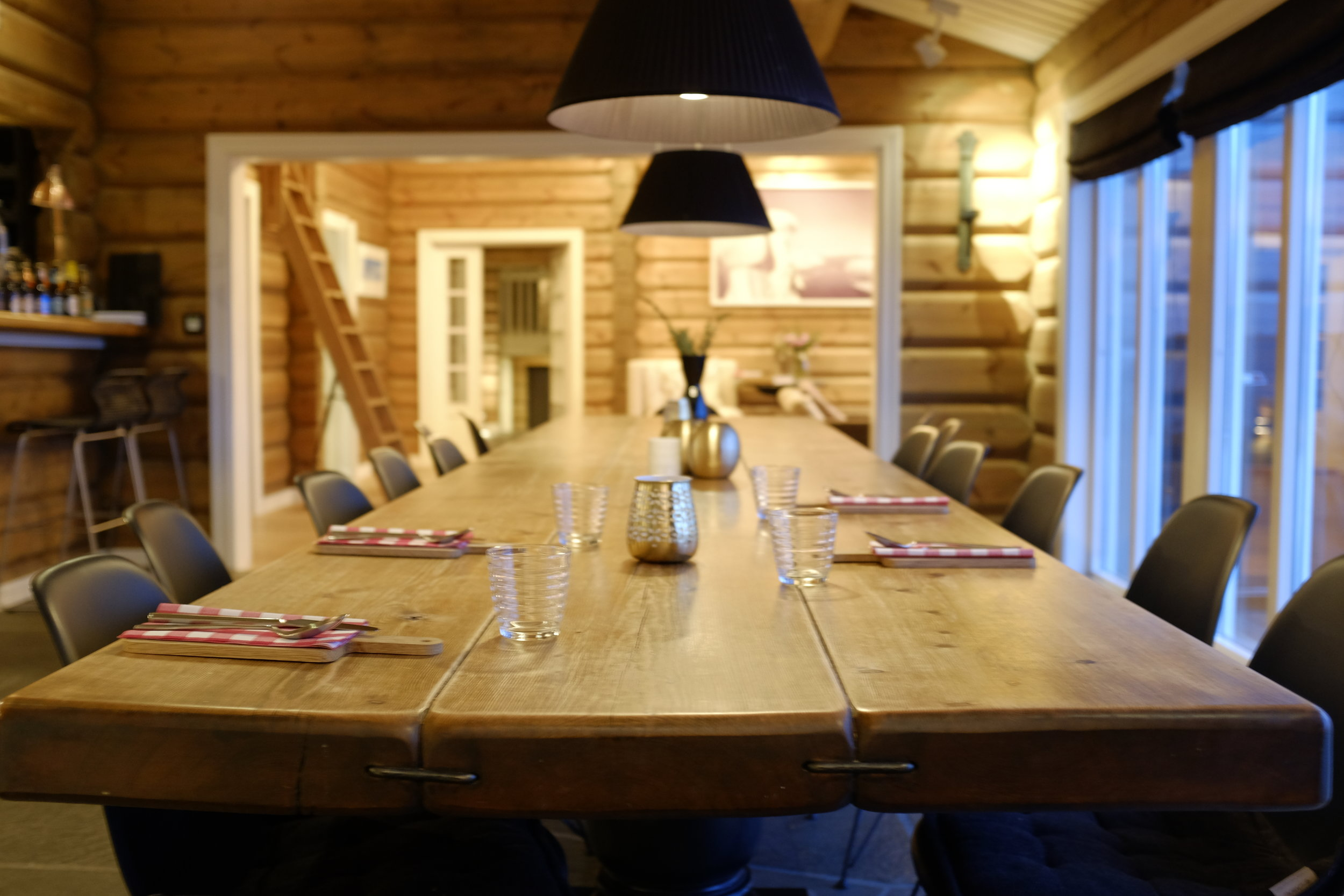 Lyngen Lodge Communal Dining