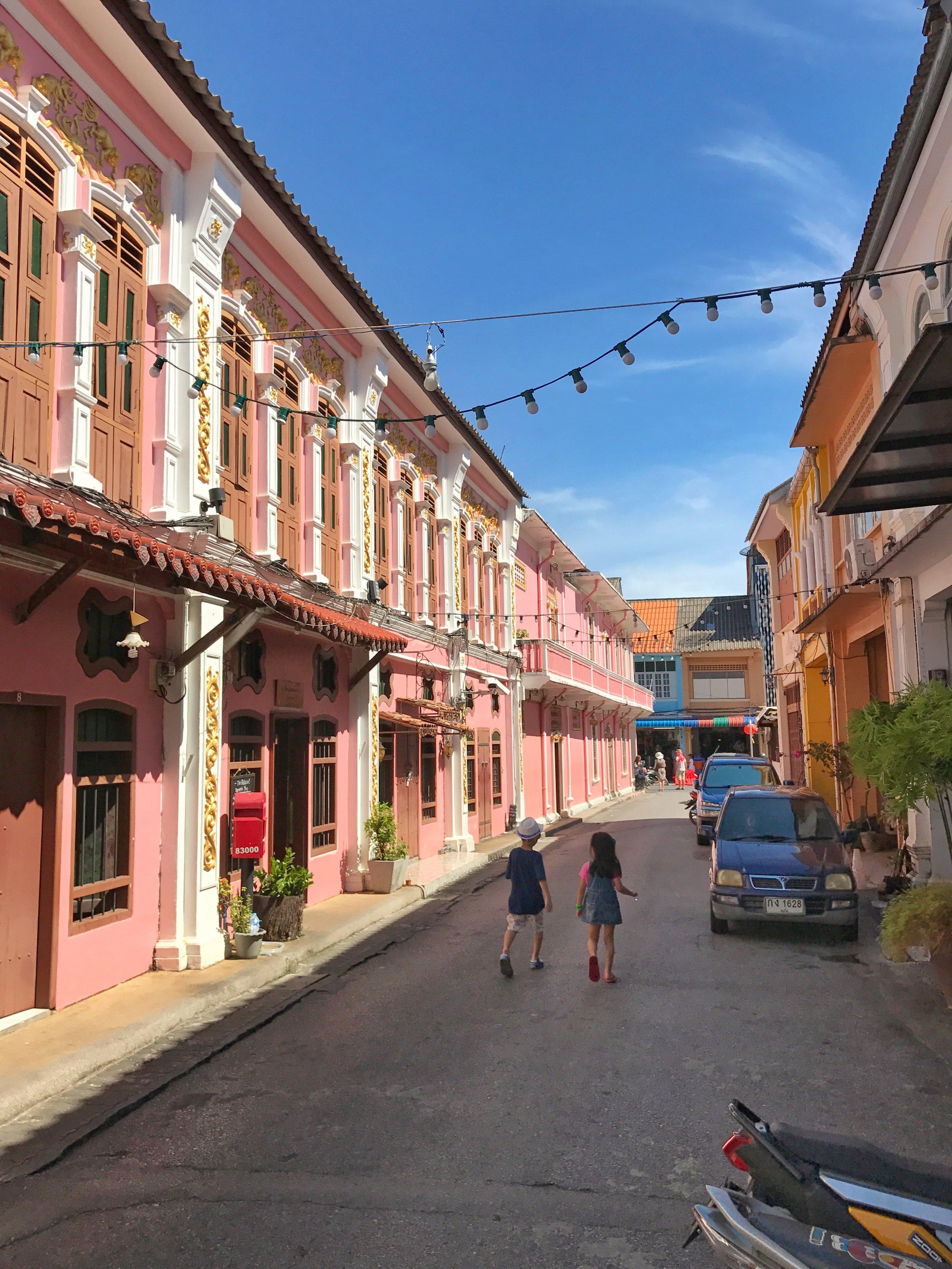 Phuket Old Town Street