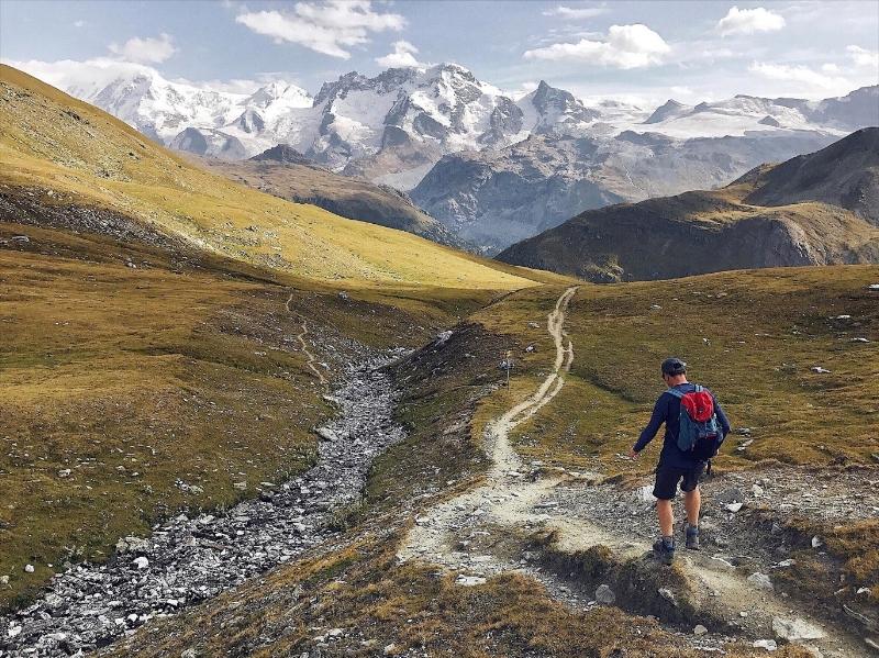 Trift Trail Hike above Zermatt