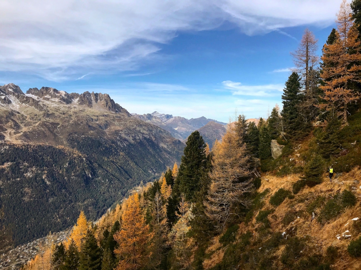 Chamonix Off Season Autumnal Scenes