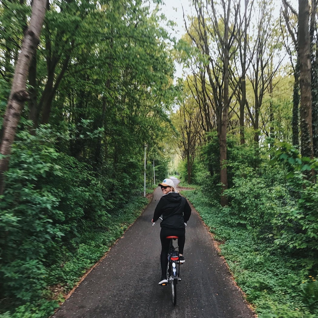 leiden amsterdam bicycle
