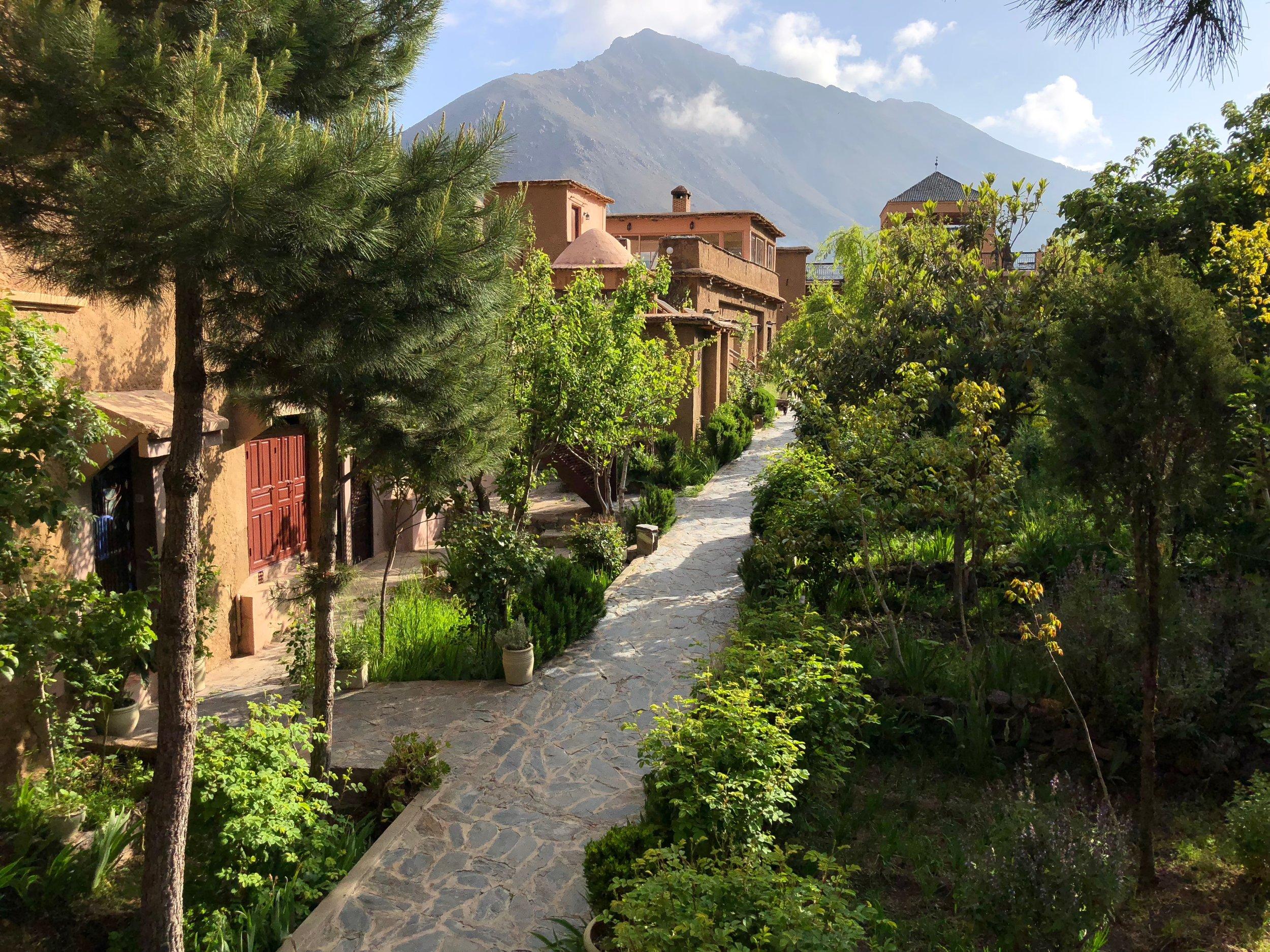 Main entry way to Kasbah du Toubkal