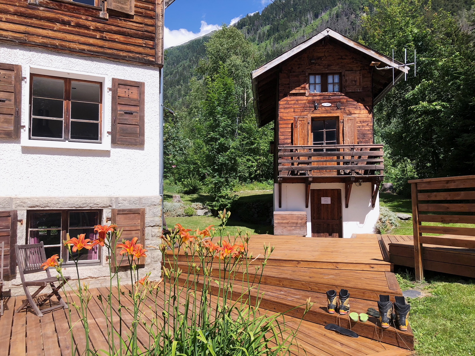Mont Blanc Guides chalet in Chamonix