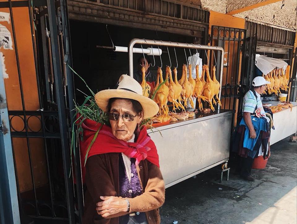 Huaraz street scene