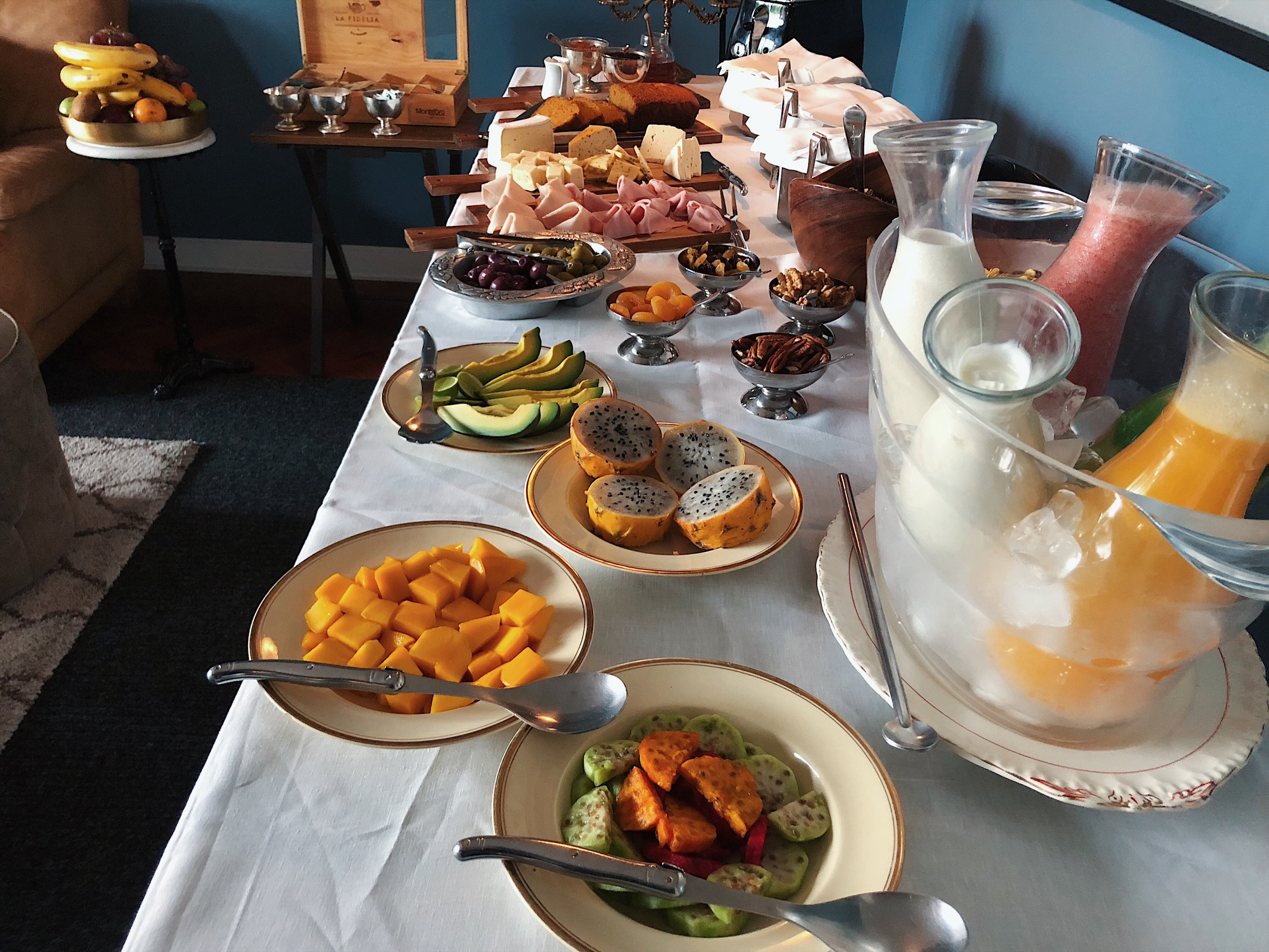 Atemporal Lima buffet brunch