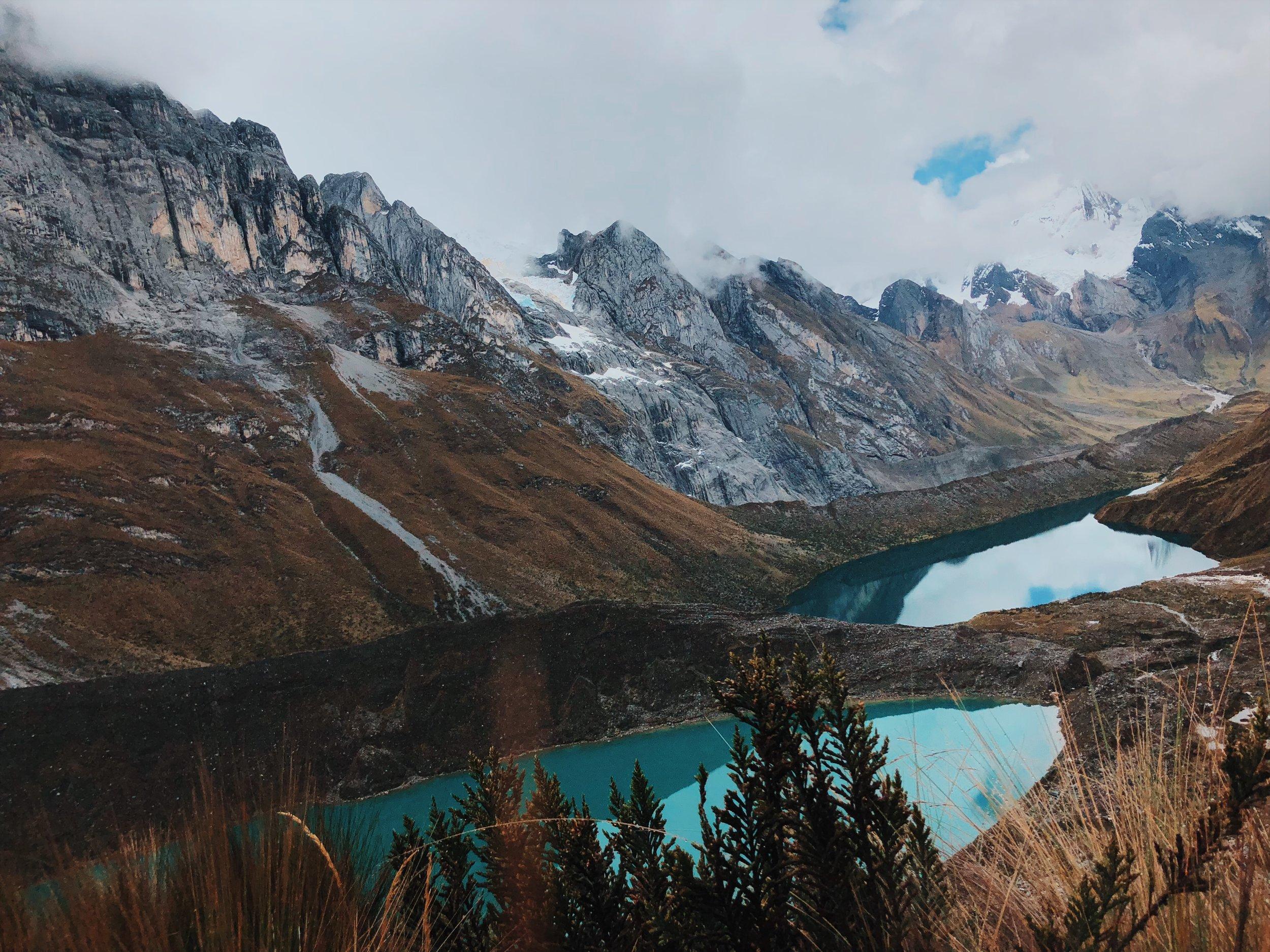 Siula Pass on Huayhuash