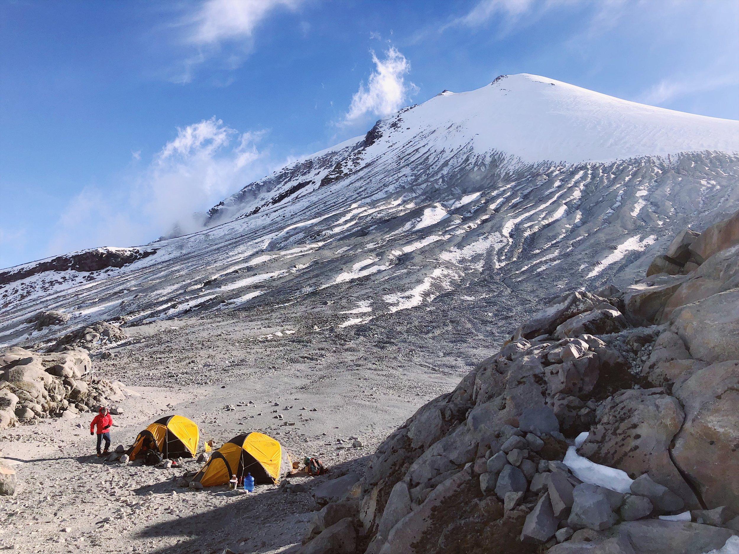 orizaba high camp summit day ctss