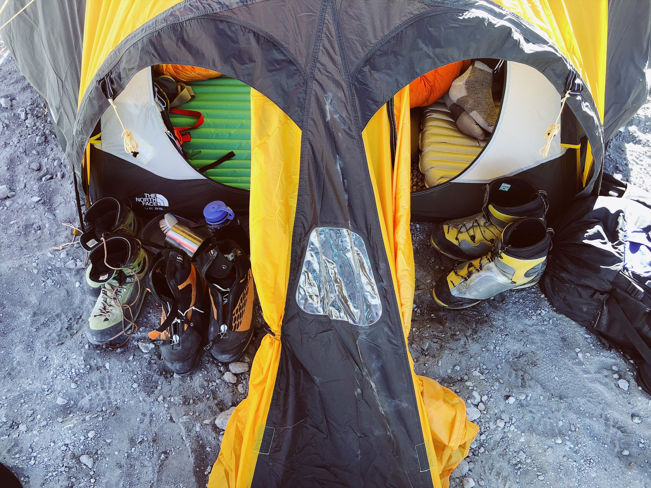 orizaba high camp ctss summit