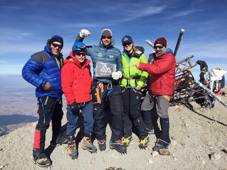 orizaba summit ctss climbing the seven summits