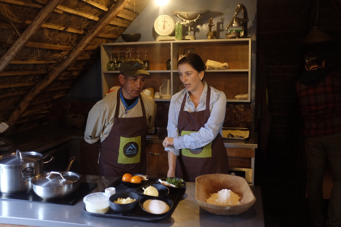 Maria and Roberto teach us how to cook Ecuadorian-style
