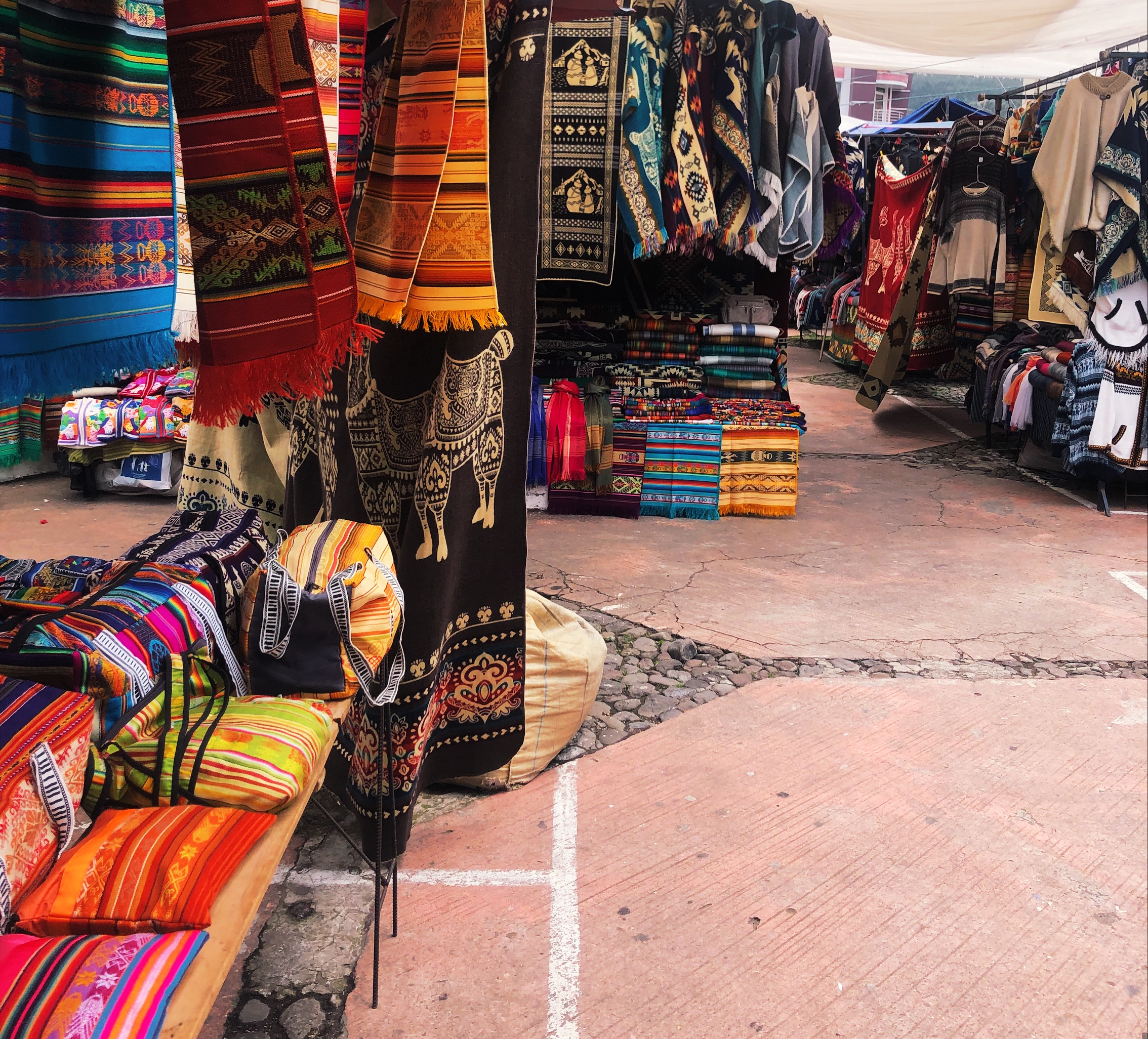 Otavalo textiles market - a must visit