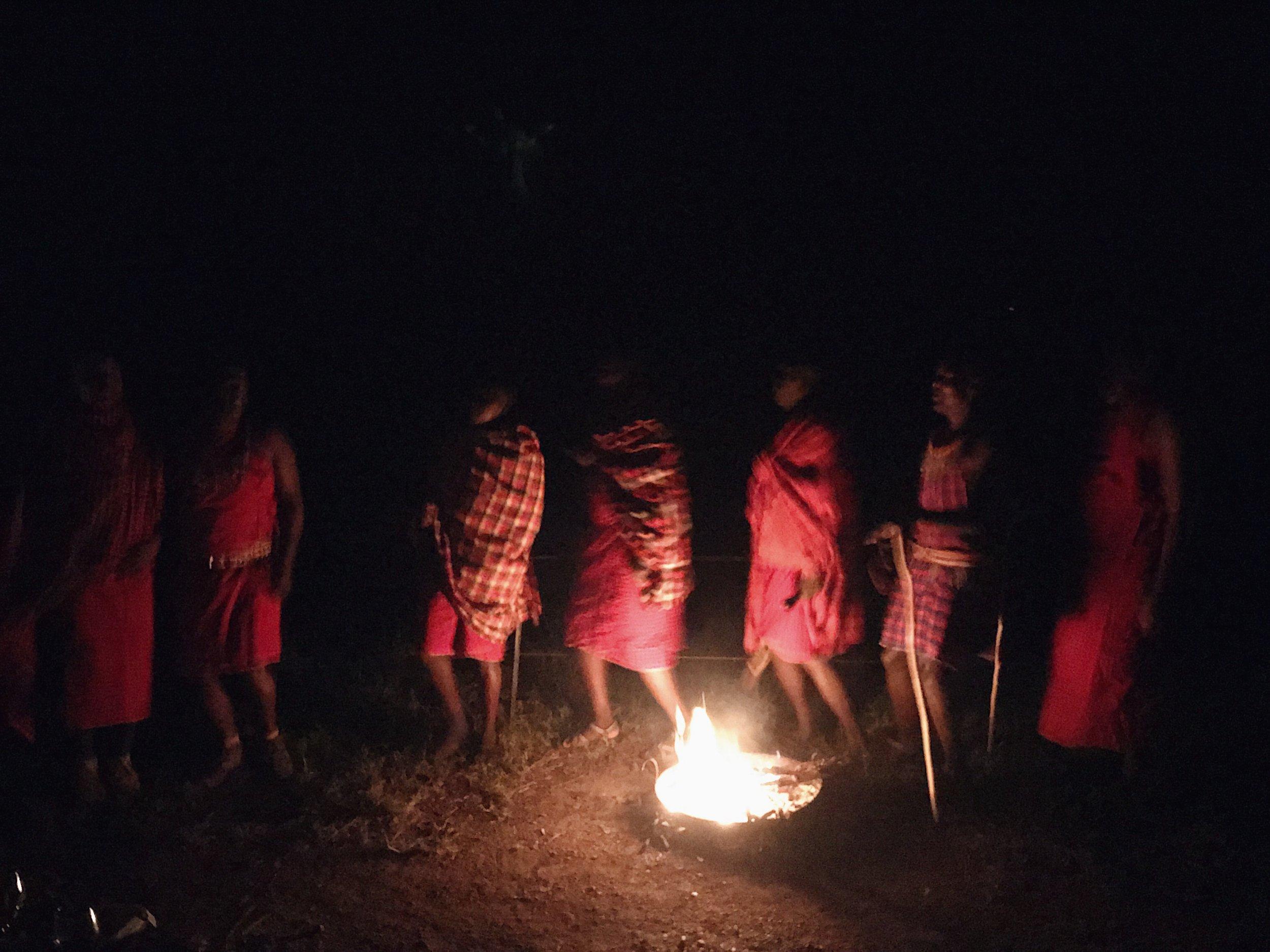 sentinel mara masai dance