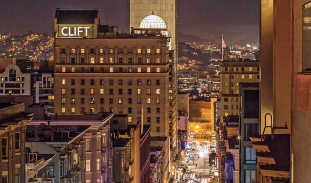 CLIFT HOTEL - SAN FRANCISCO, CALIFORNIA