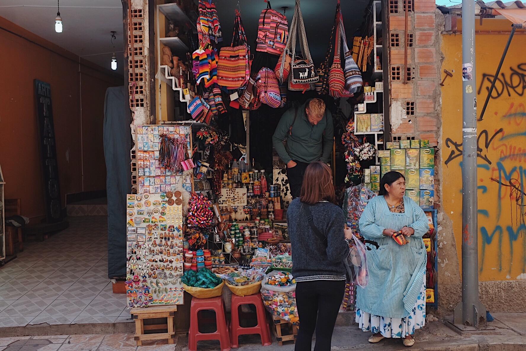 la paz witches market