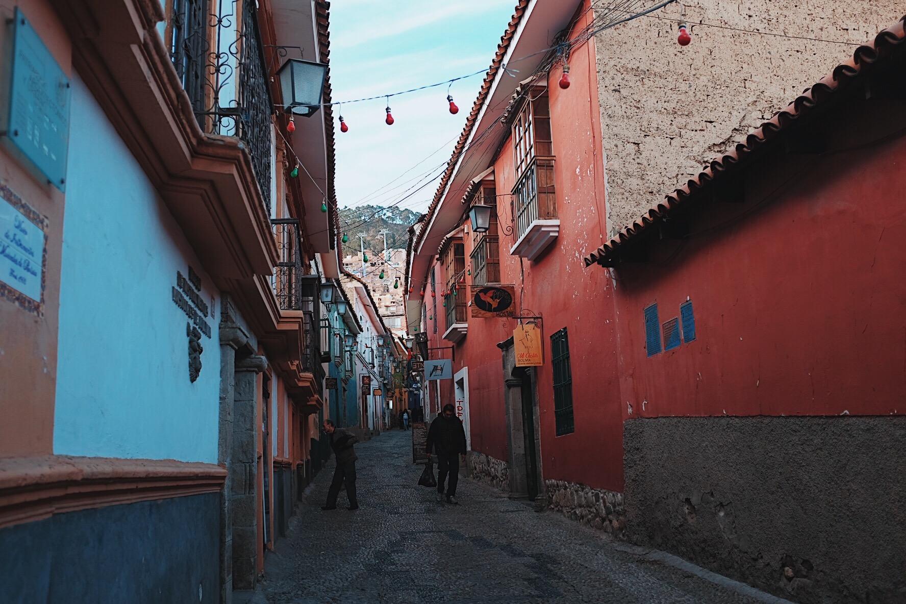 Calle Jaen in La Paz