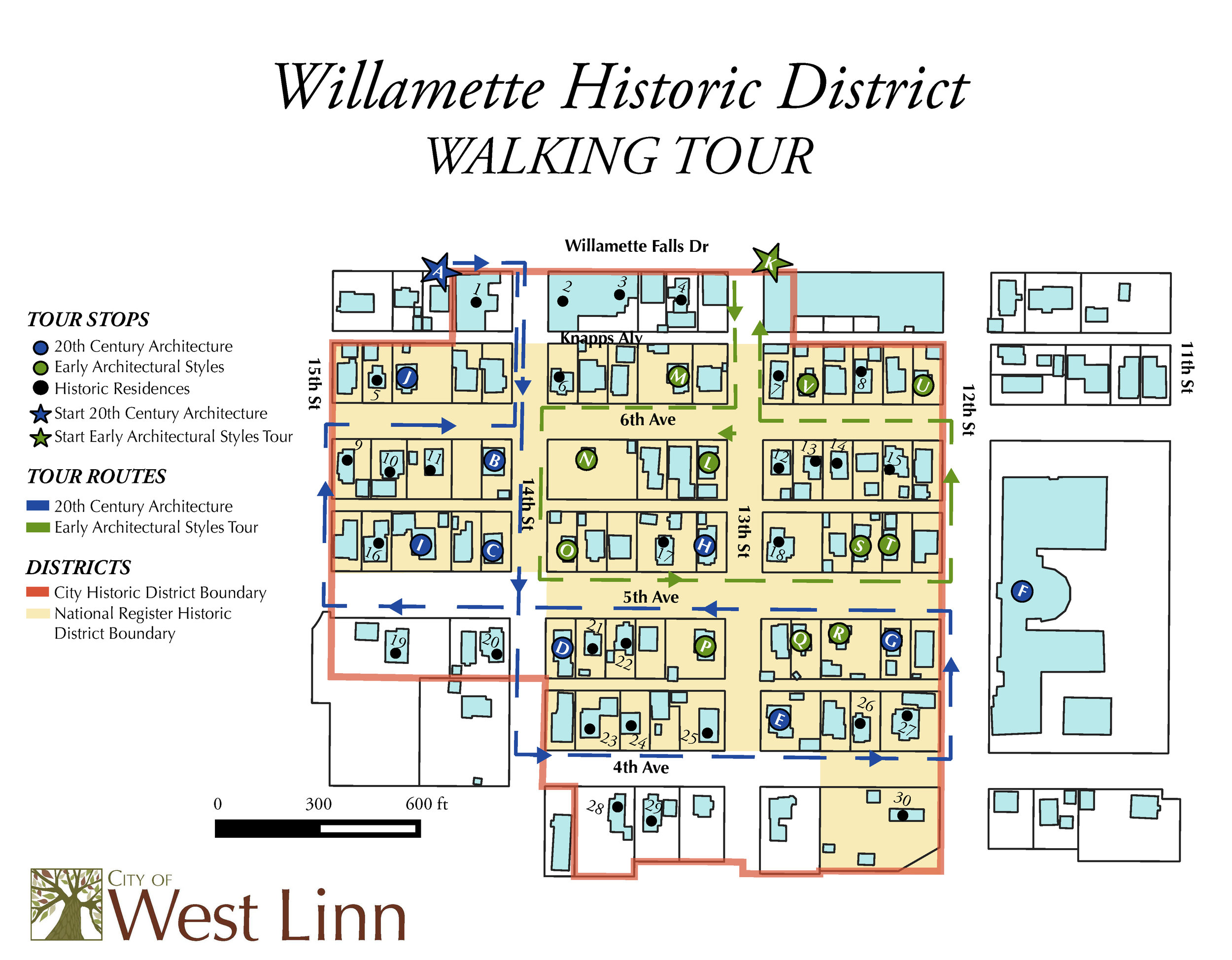 West Linn Walking Tour