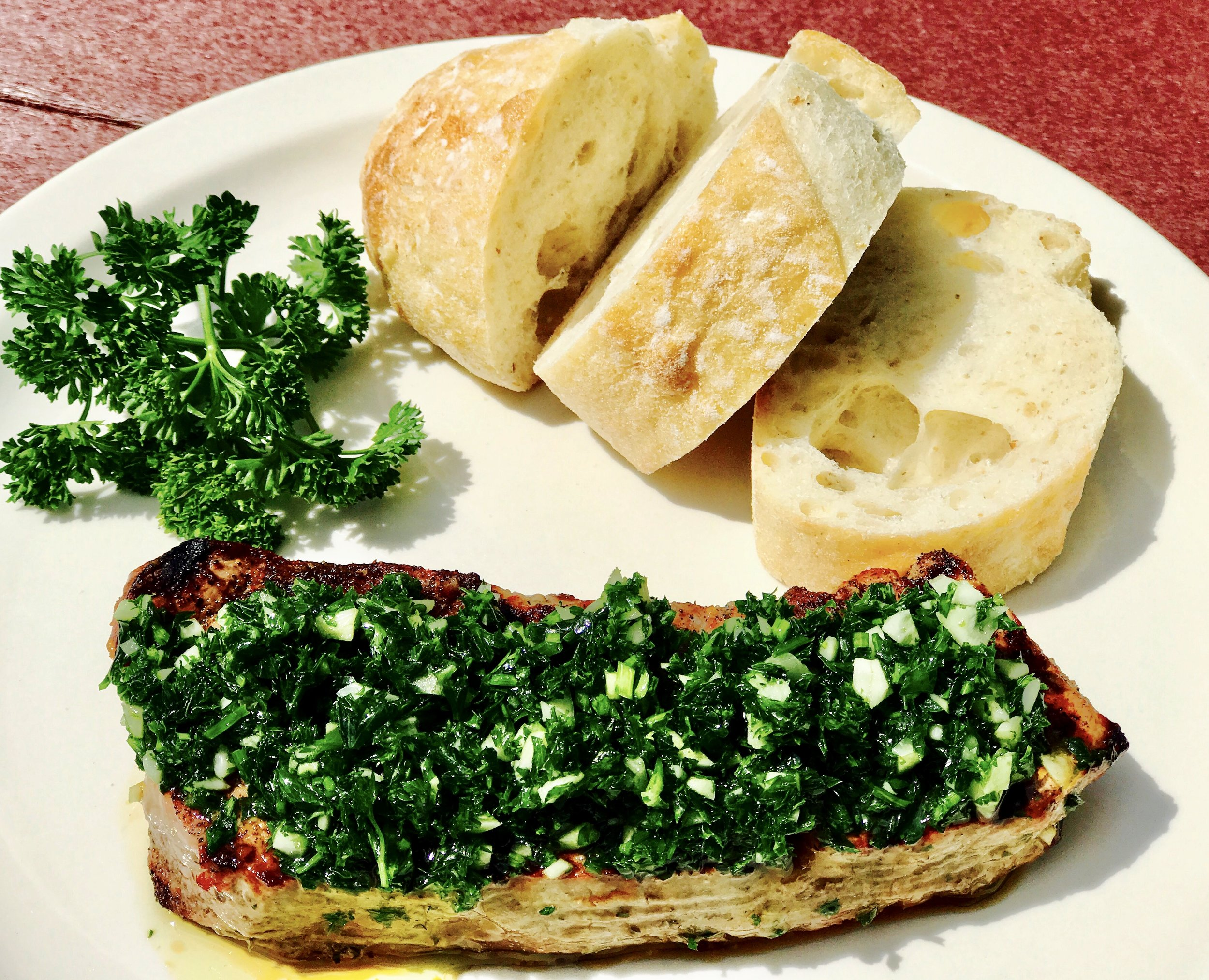 - Chimichurri is a Central American marinade