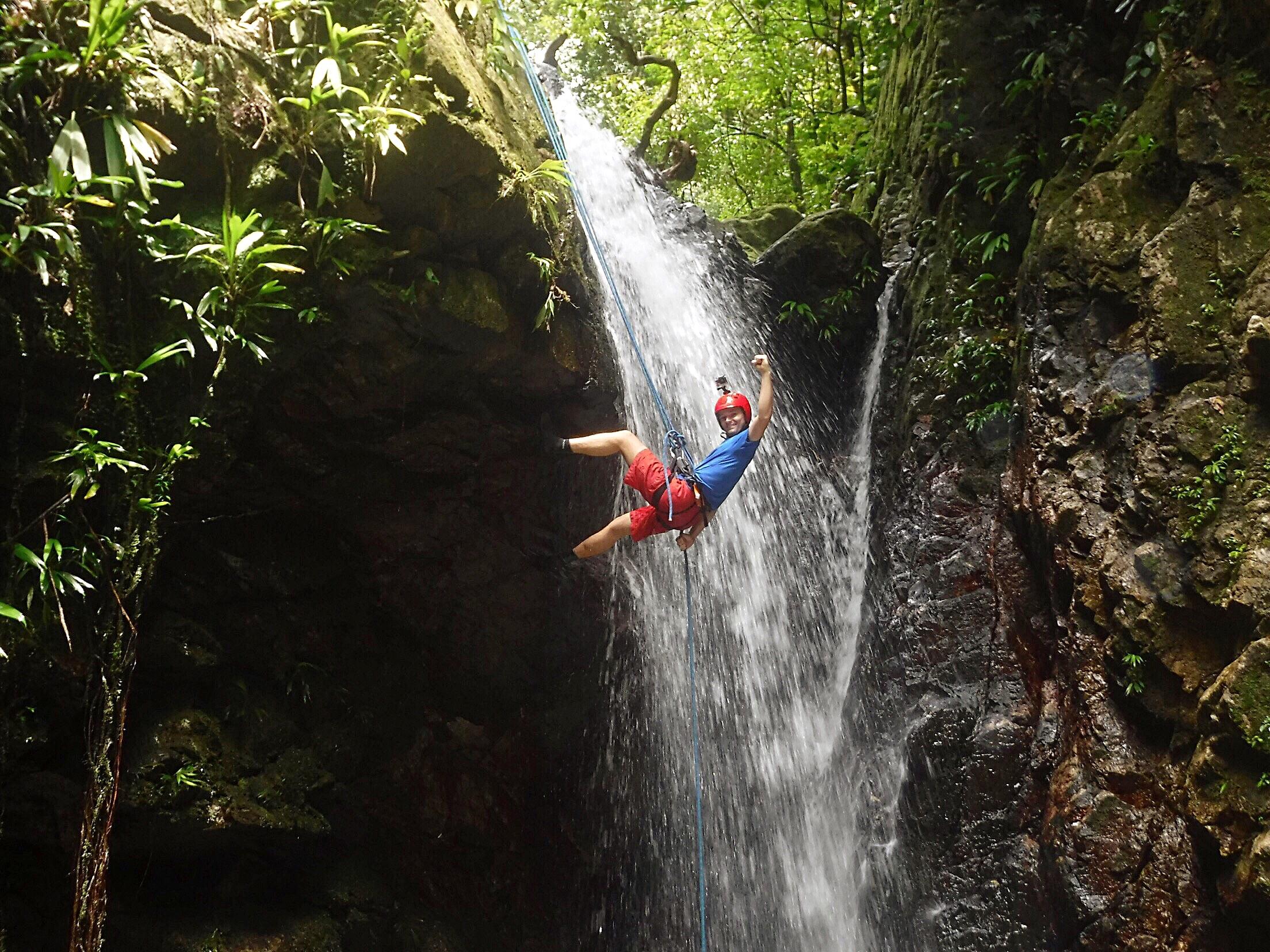 Honduras Waterfall Descents