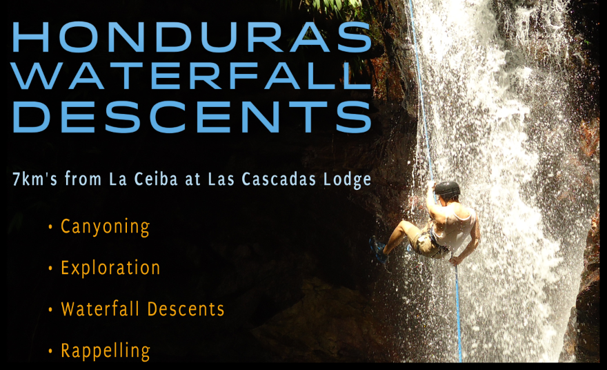 "We are the ""Waterfall Hotel in Honduras"""