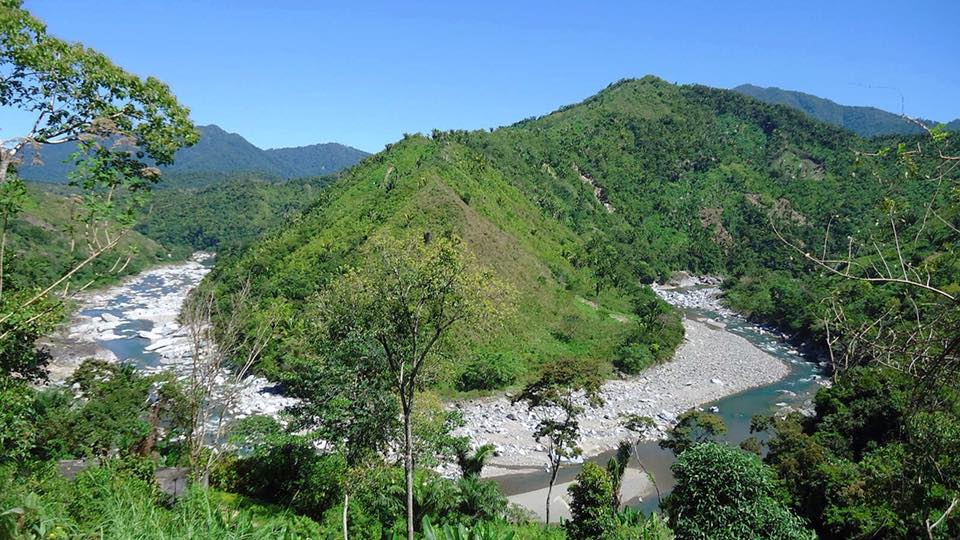 The Valley of the Rio Cangrejal (rafting river). Las Cascadas Lodge is located downstream from here.