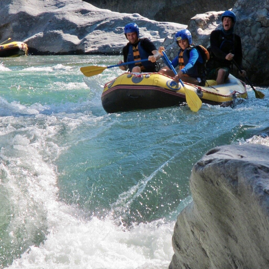 The rafting is steep, technical, safe, and professional!