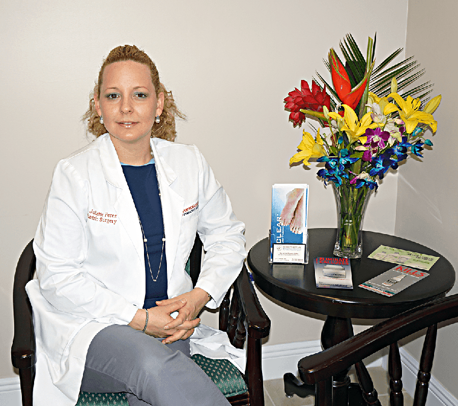 juliette perez foot doctor miami hialeah florida podiatrist