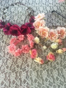 I had a few flower crowns for the girls to wear if they wanted. I always have to have some sort of prop or props to take pictures in.