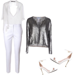 Classic White Date Night Outfit