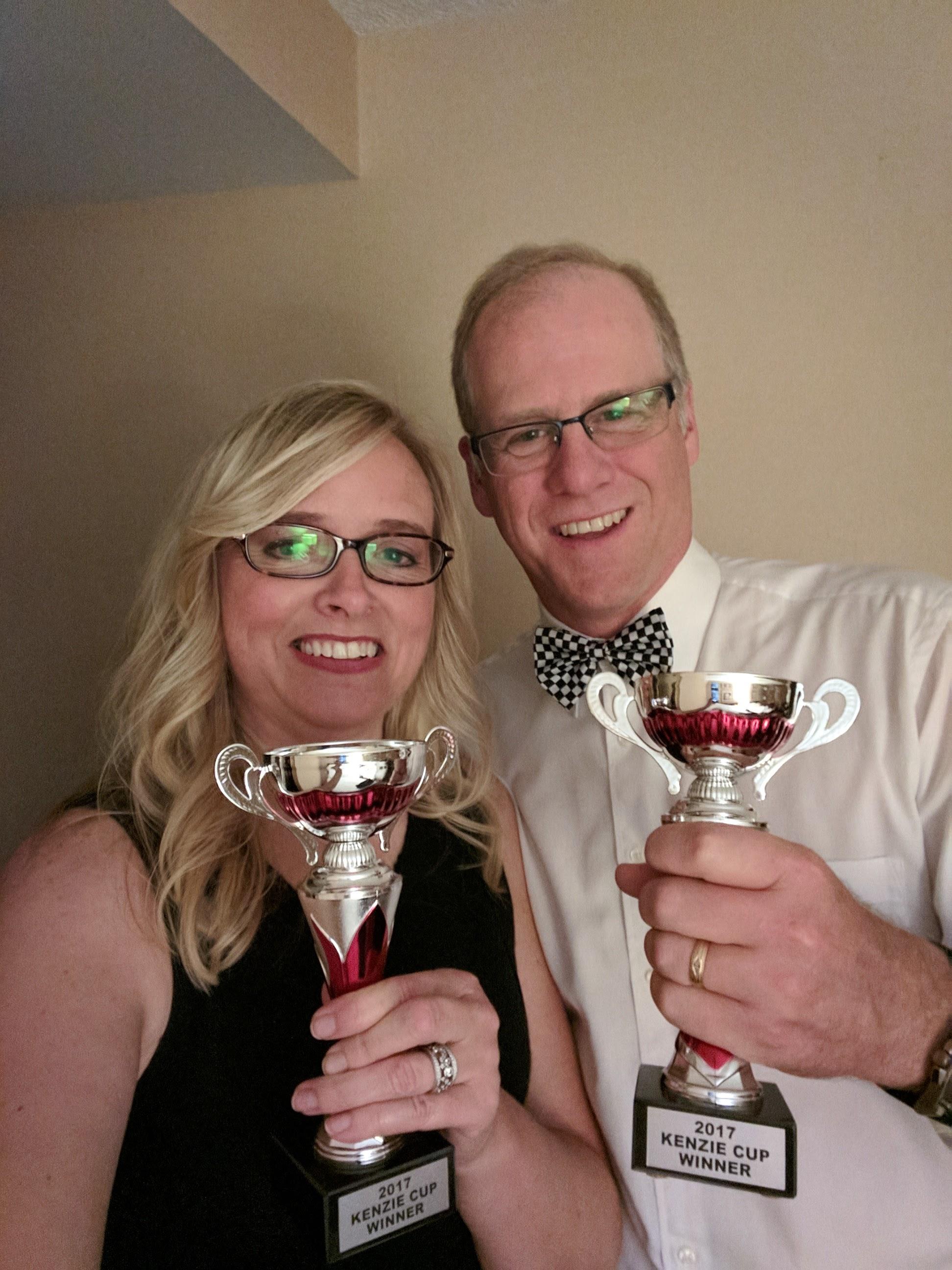 Yeah! Kenzie cup winners!