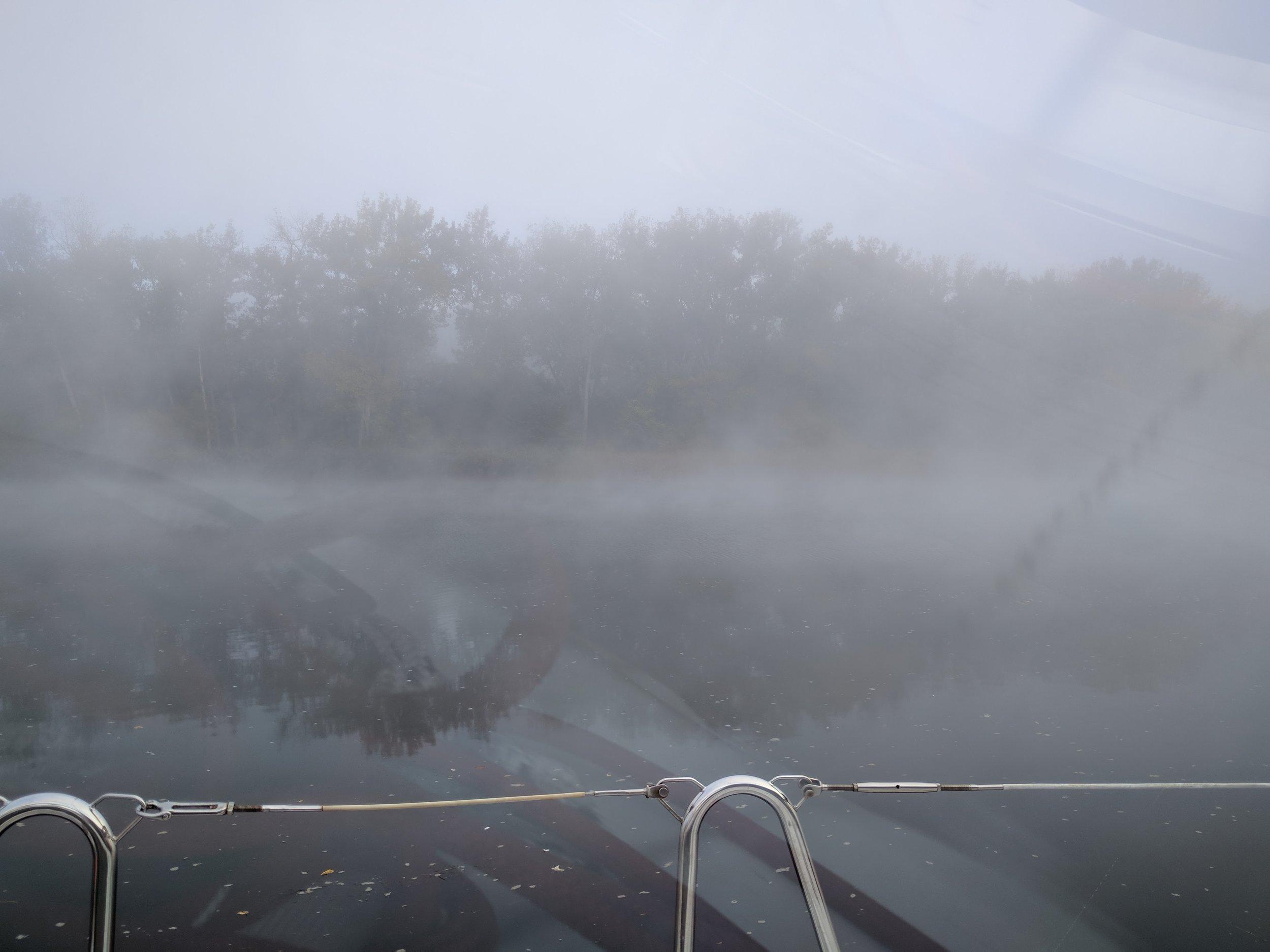 Foggy Peaceful Morning