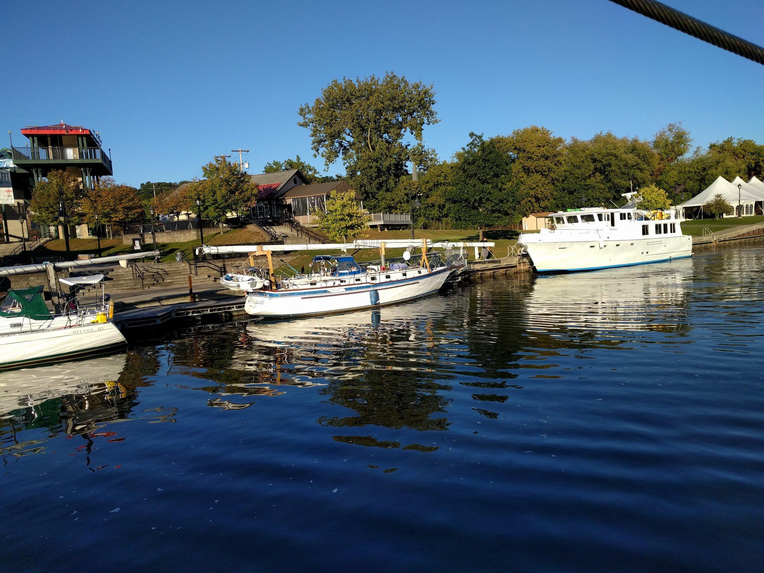 Amsterdam's marina island...beautiful!