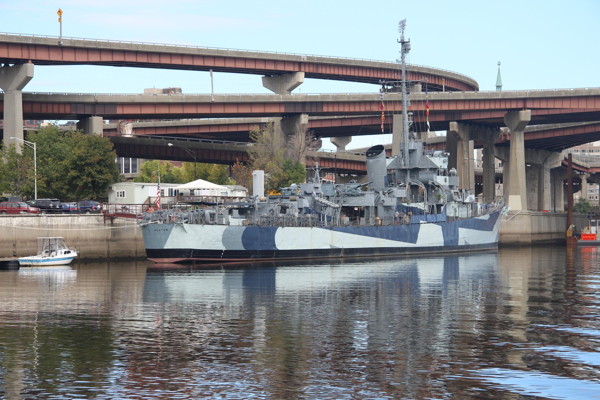 The battleship.