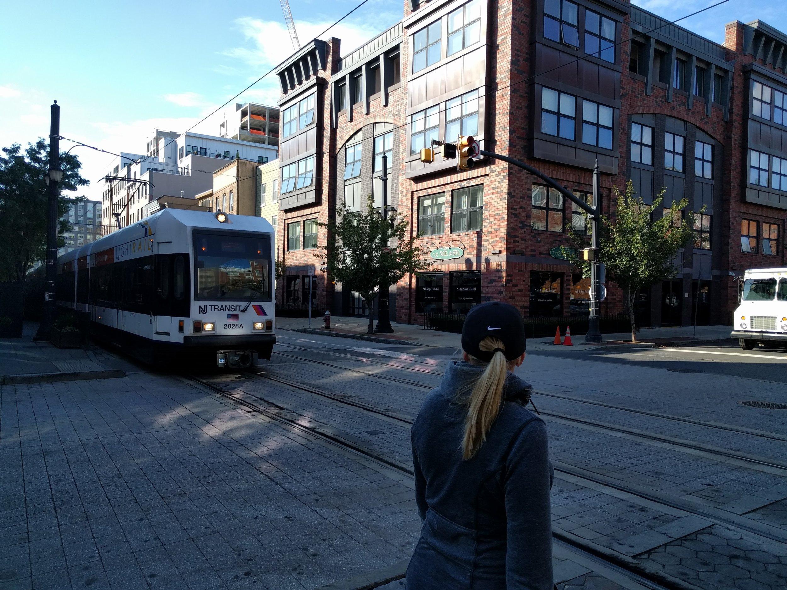 NY streetcars/transit.